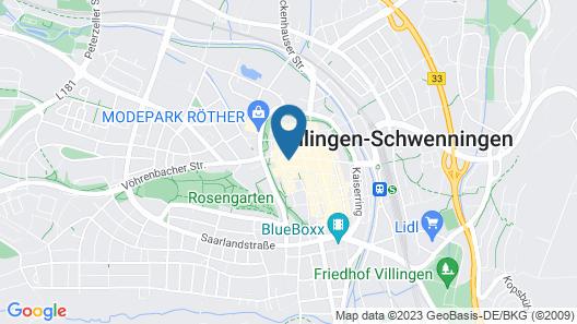 DORMERO Hotel Villingen-Schwenningen Map