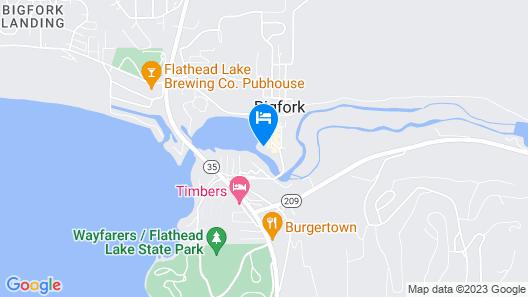 The INN on Bigfork Bay Map