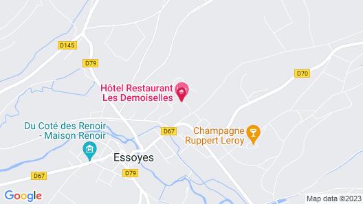 Les Demoiselles Map