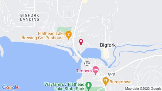 Marina Cay Resort Map