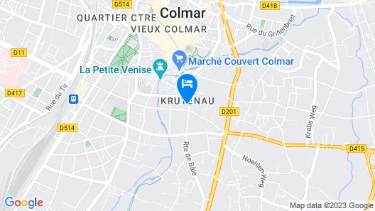 Hôtel Turenne Map