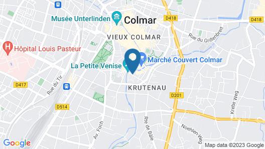 Hôtel Le Colombier Map