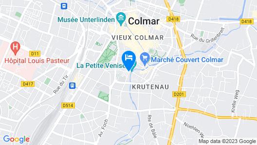 Hôtel le Maréchal Map