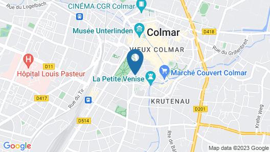 ibis Styles Colmar Centre Map