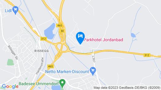 Parkhotel Jordanbad Map