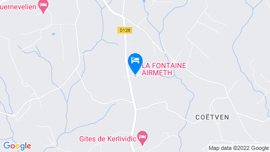 La Fontaine Airmeth Map