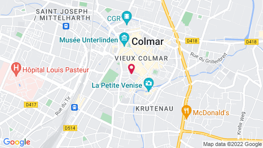 Hôtel Quatorze Map