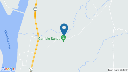 Inn at Gamble Sands Map