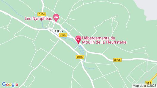 Maison du Moulin de la Fleuristerie Map