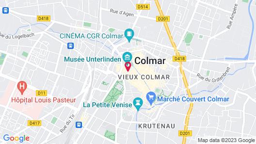 La Maison des Têtes | Relais & Châteaux Map