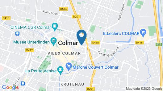 ibis Colmar Centre Map