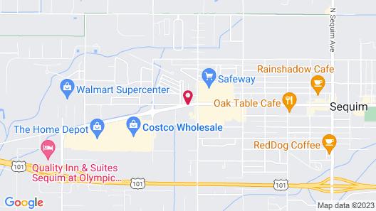 Sequim West Inn Map