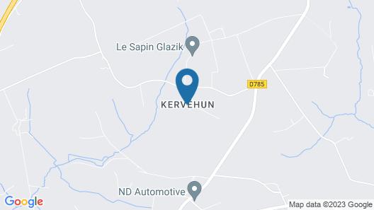 Gîte De Kervehun - Near the airport Map