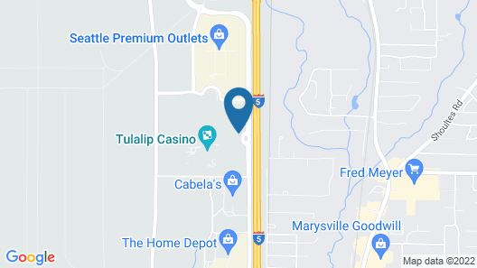 Tulalip Resort Casino Map