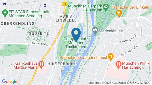 Munich Oktoberfest Glamping Map