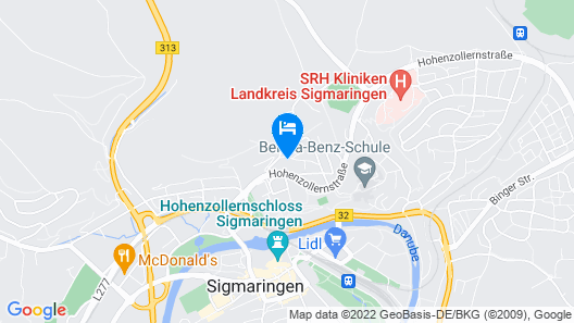 Jägerhof Map