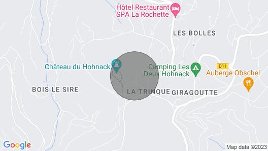 Gîte du Petit Hohnack Map