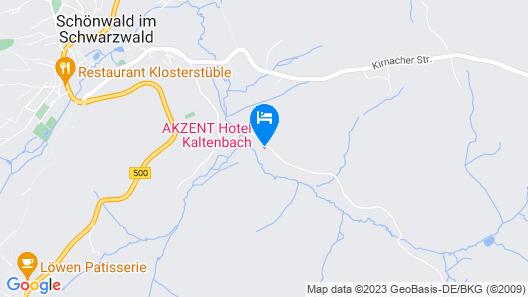 Akzent Hotel Kaltenbach Map