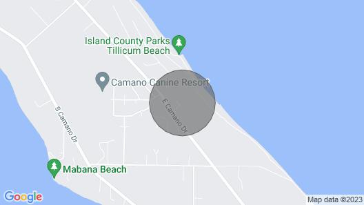 Sea Glass Hideaway Map