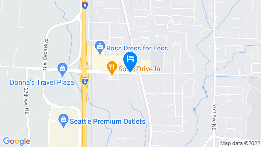Home2 Suites Marysville Map