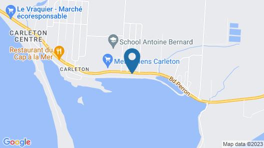 Auberg'Inn - Aux 4 Vents Map
