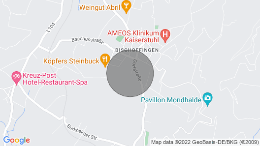 Apartment Haus Sacherer in Vogtsburg - 3 Persons, 1 Bedrooms Map