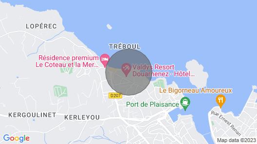 Holiday Home, Douarnenez-tréboul Map