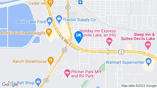 Fireside Inn & Suites Map