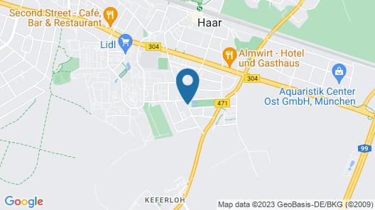 Arthotel Haar Map