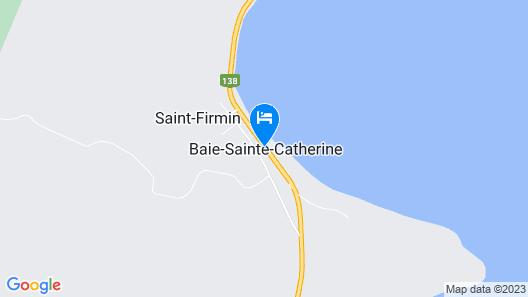Hôtel-Motel Baie-Sainte-Catherine Map