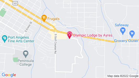 Olympic Lodge Map