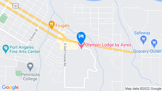 Super 8 by Wyndham Port Angeles at Olympic National Park Map