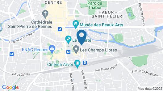 Le Saint-Antoine Hotel & Spa, BW Premier Collection Map