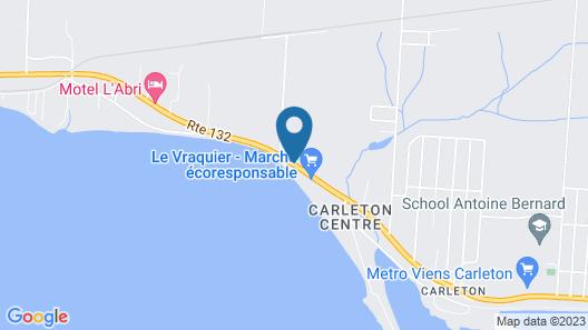 Manoir Belle Plage Map