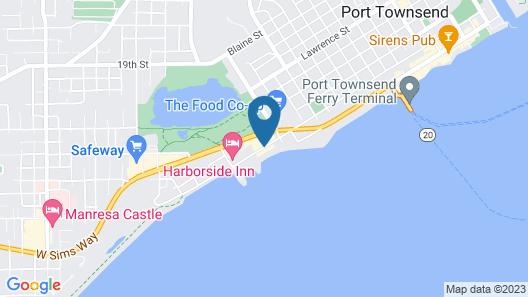 Aladdin Motor Inn Map