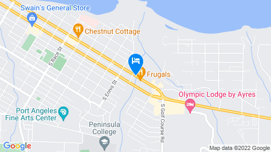 Olympic Inn & Suites Map