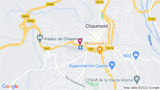 Grand Hotel Terminus Reine Map