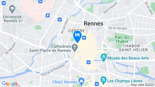 Hotel des Lices Map