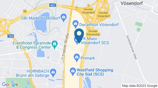 Best Western Smart Hotel Map