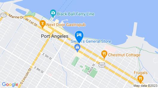 Riviera Inn Motel Map