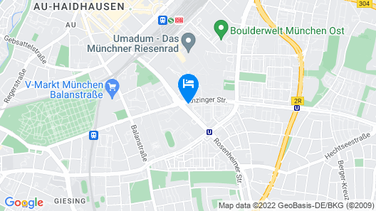 JOYN Munich Rose Map