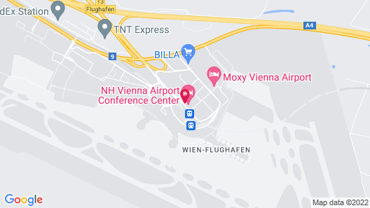 NH Vienna Airport Conference Center Map