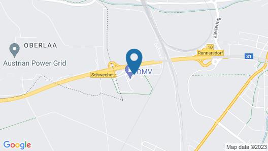 Hotel ibis Vienna Airport Map