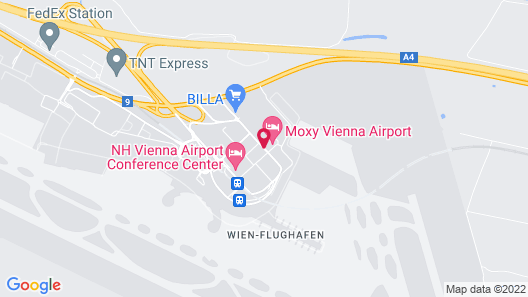 Moxy Vienna Airport Map