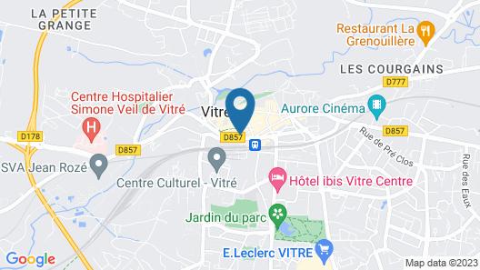 Hôtel Le Magic & Spa Map