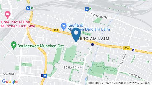 Central Hotel Apart München Map