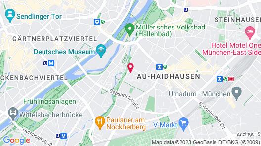 Motel One München-Deutsches Museum Map