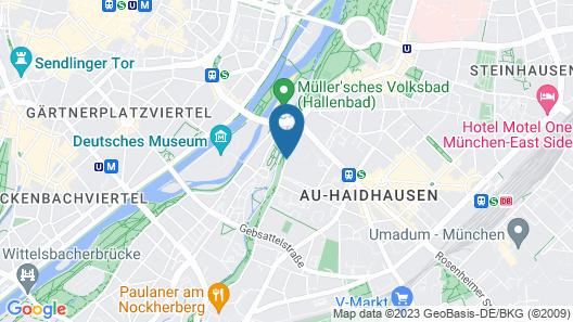 Novotel Muenchen City Map