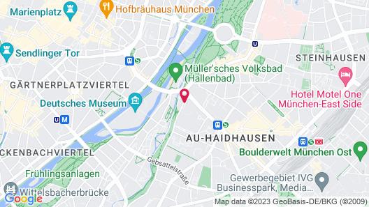 Holiday Inn Munich - City Centre, an IHG Hotel Map