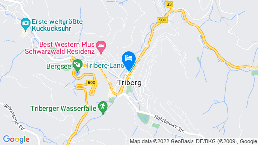 Hotel Café Adler Map